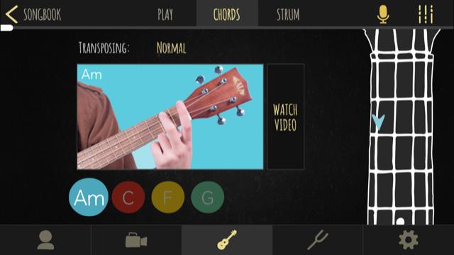 Aplicación Kala Ukulele - Afinador y juego para aprender a tocar 6