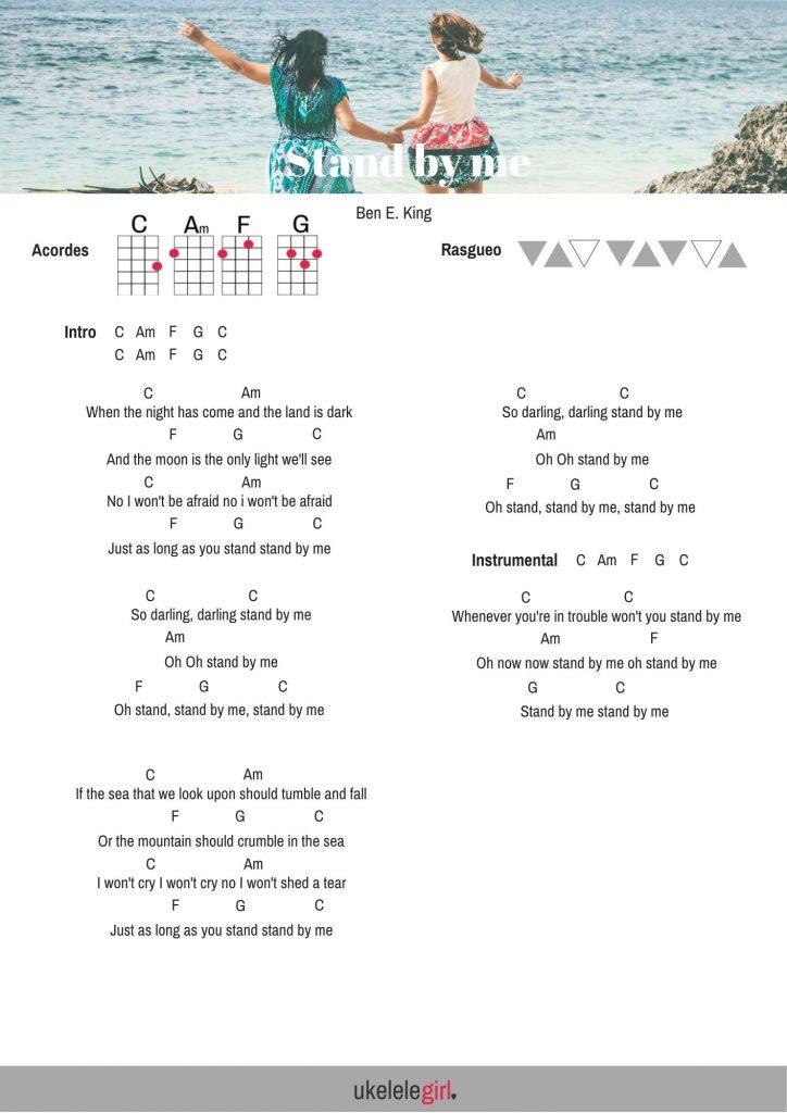 Canciones para ukelele: Stand by me para ukelele