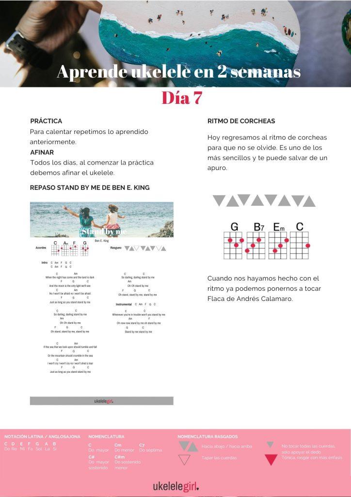 Aprende ukelele en 2 semanas – Día 7